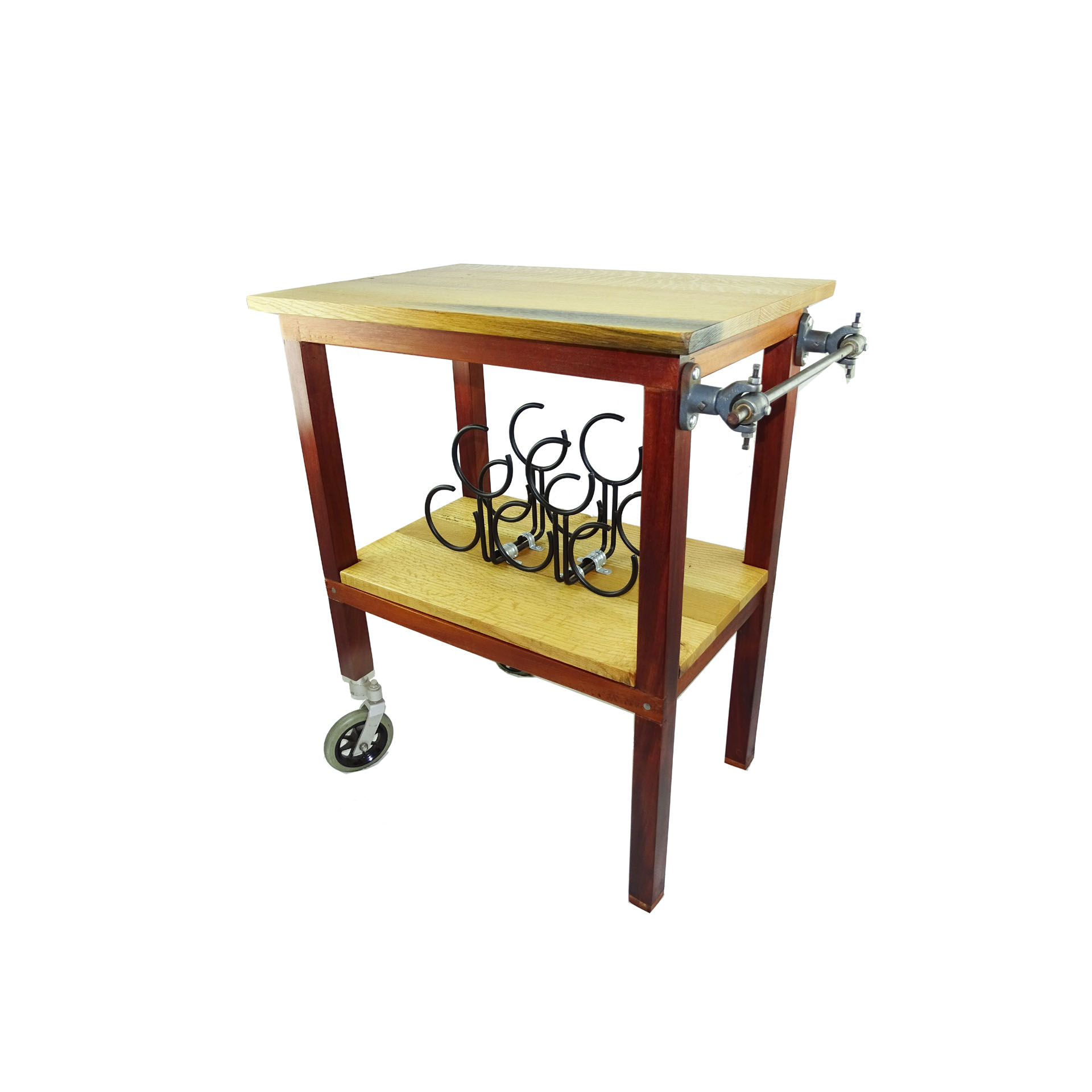 Rolling Wine Table
